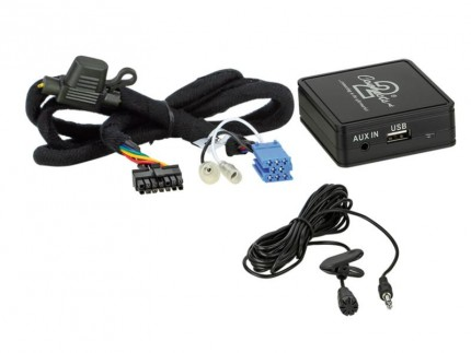 Bluetooth Adapter Peugeot ISO Anschluss