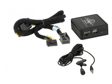Bluetooth Adapter Peugeot mit Quadlock Anschluss