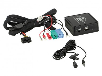Bluetooth Adapter Skoda mit Quadlock Anschluss