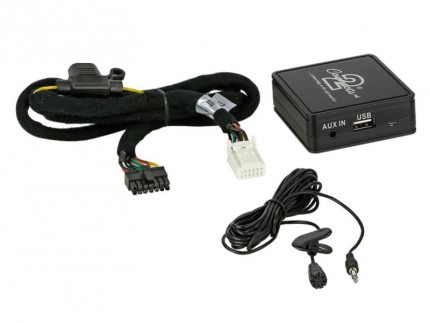 Bluetooth Adapter Toyota 6+6 PIN