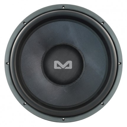 Ampire Black 15.1 Subwoofer Chassis 380 mm (38 cm/15 Zoll)
